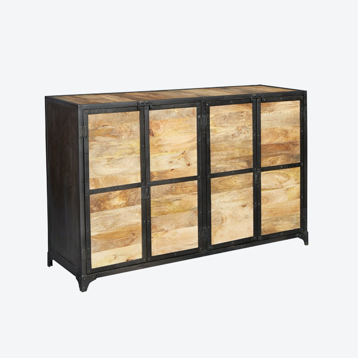 Reclaimed Wood Large Sideboard