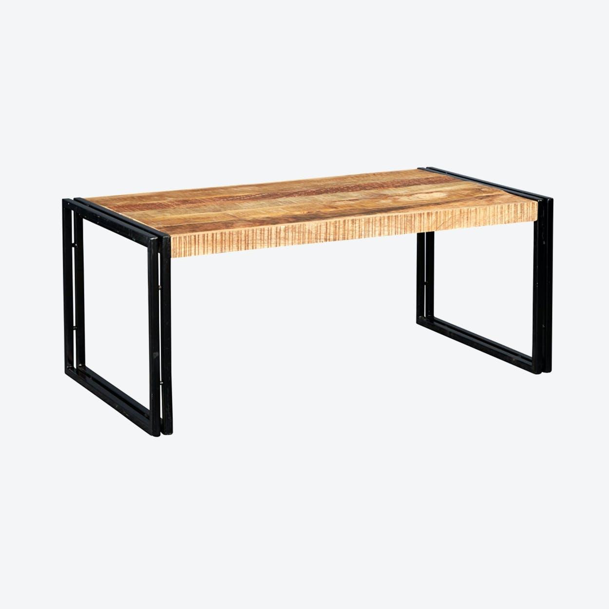 Mango Wood Large Coffee Table