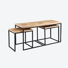 Mango Wood John Long Coffee Table