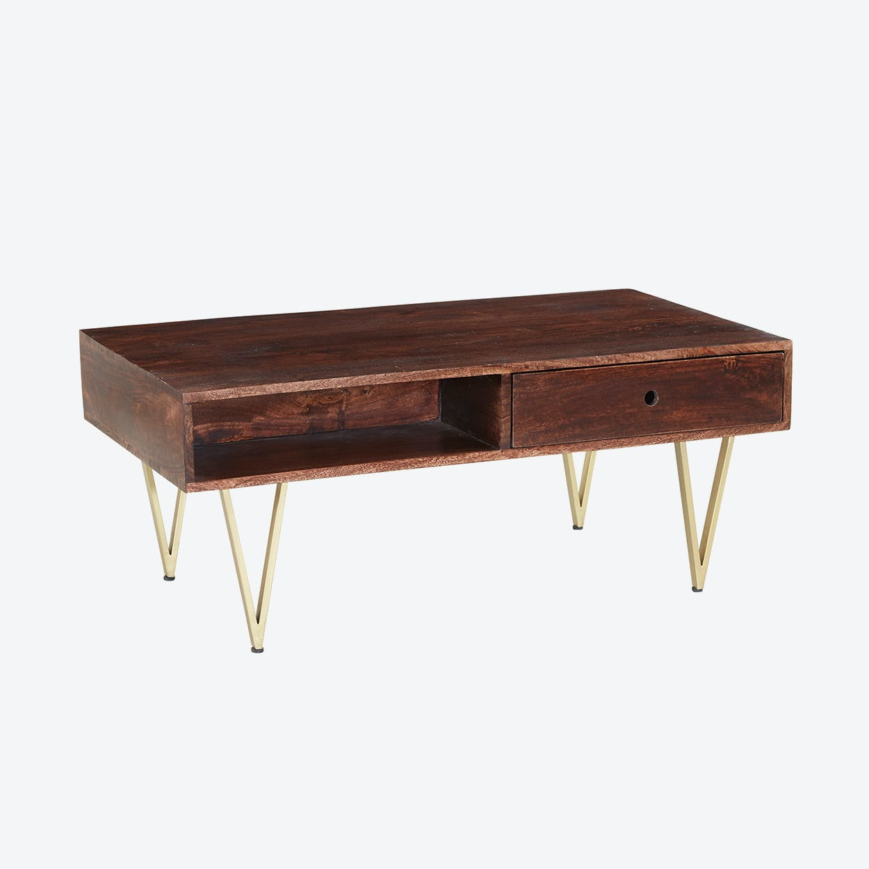 Wooden Rectangular Coffee Table