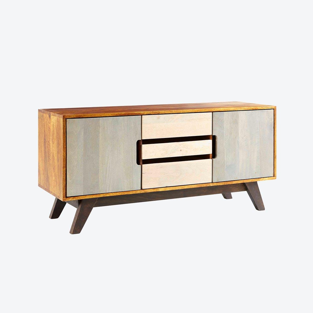 Mango Wood Plasma Unit/Sideboard