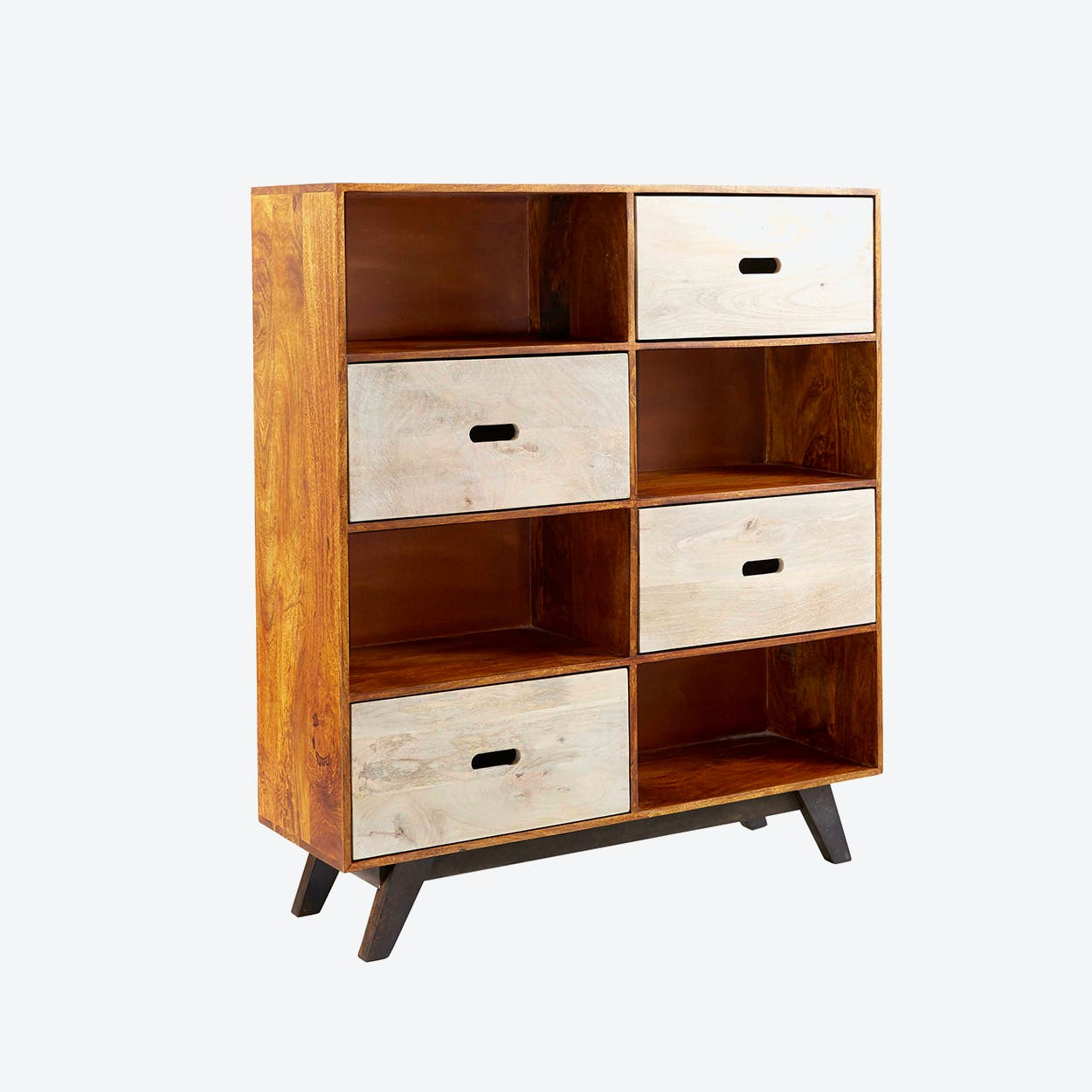 Mango Wood Display Unit/Bookcase