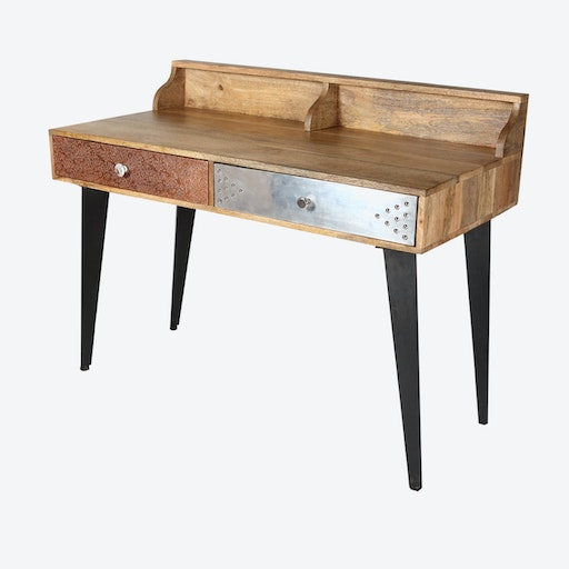 Reclaimed Wood Desk / Console Table