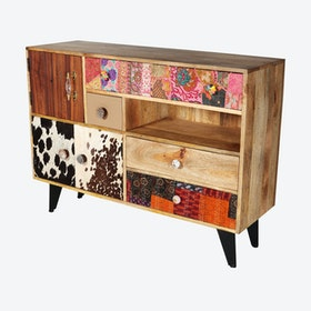 Reclaimed Wood Large Sideboard 2