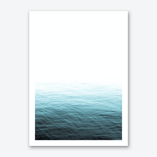 Vast Blue Ocean Art Print