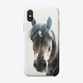 Horse Portrait iPhone Case