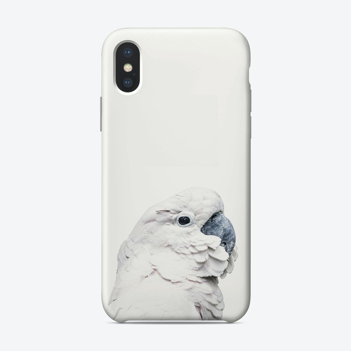 White Cockatoo iPhone Case