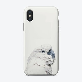White Cockatoo iPhone Case