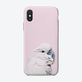 Pink Cockatoo I iPhone Case