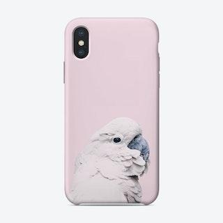 Pink Cockatoo I iPhone Case