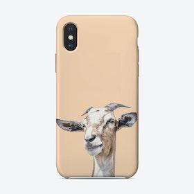 Orange goat iPhone Case