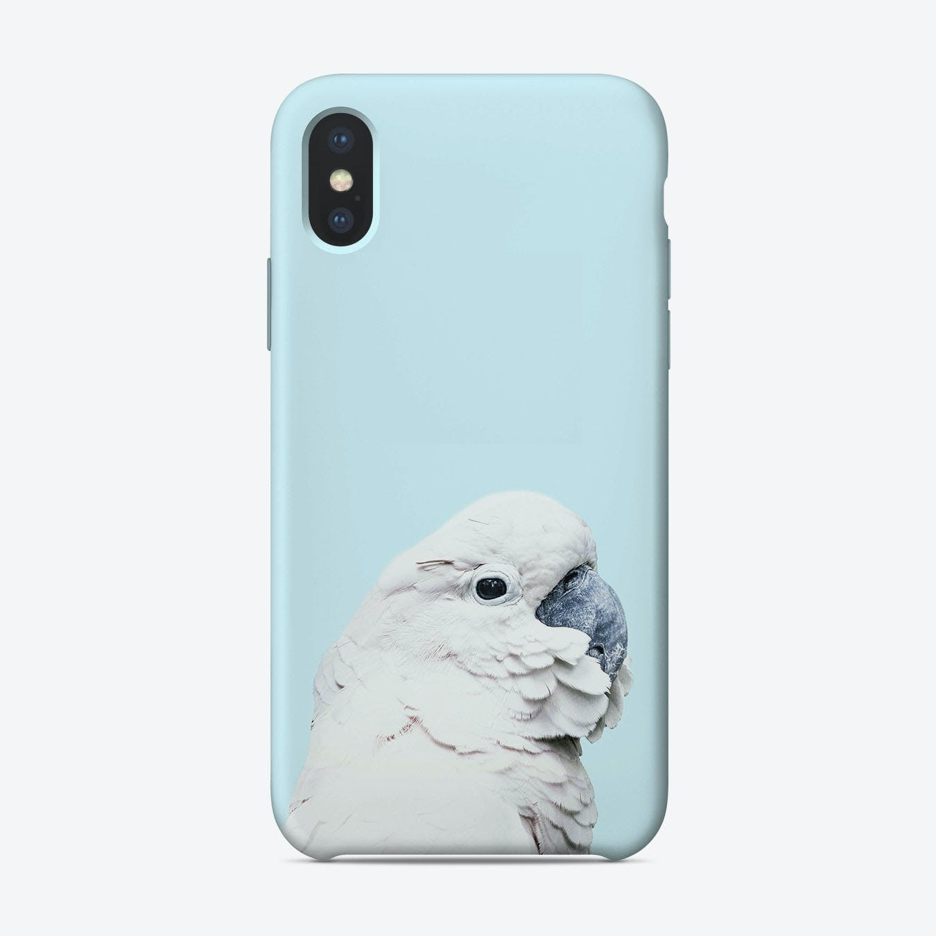 Blue Cockatoo iPhone Case