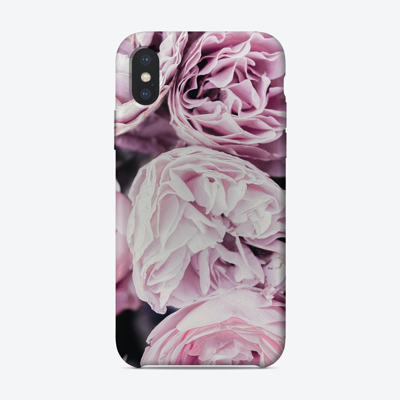 Pink Flowers II iPhone Case