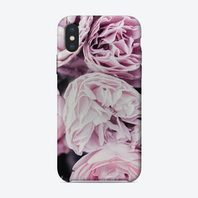 Pink Flowers II iPhone Case