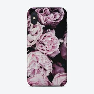 Pink Flowers III iPhone Case
