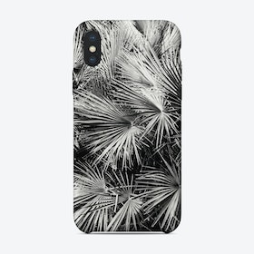 Palm Trees BW iPhone Case