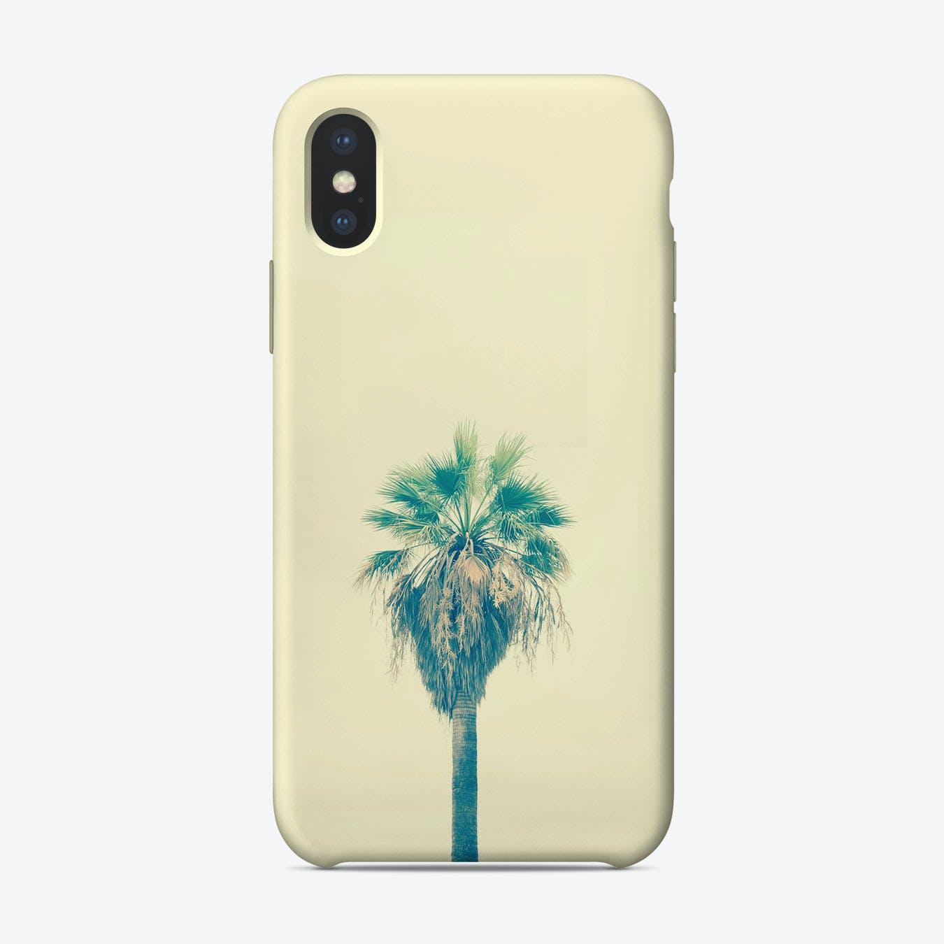 Yellow Sabal Palmetto iPhone Case
