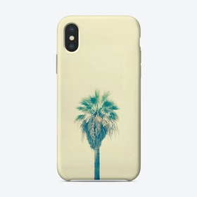 Yellow Sabal Palmetto iPhone Case