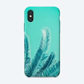 Green Palm Trees iPhone Case