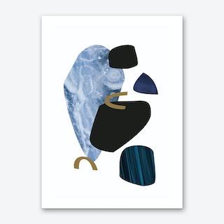 Icy Art Print