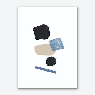 Shape Composition Art Print