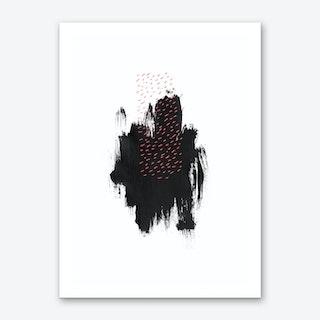 Black Hope Art Print