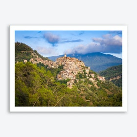 Apricale Afternoon Art Print
