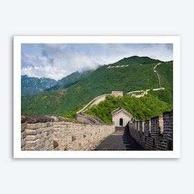 Great Wall at Mutianyu Art Print
