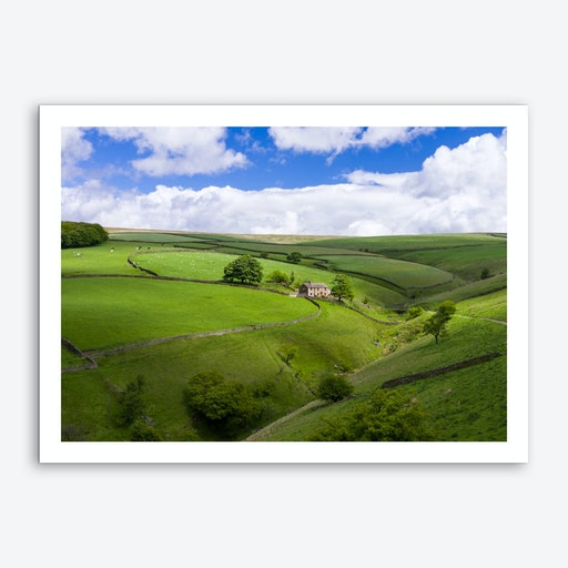 High Peak District Art Print