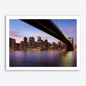 Big City Nights Art Print