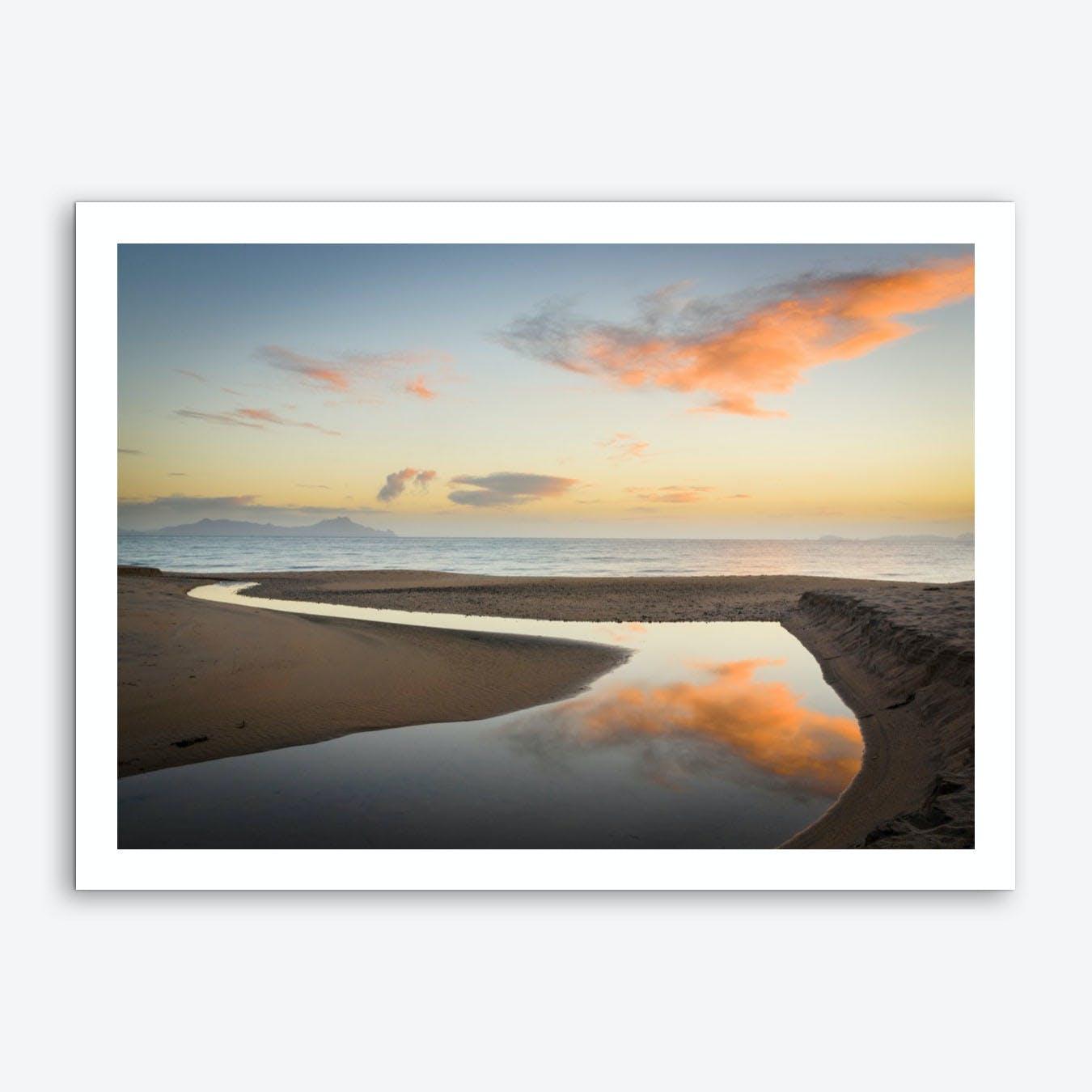Langs Beach Art Print