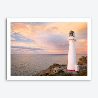 Castlepoint Lighthouse Art Print