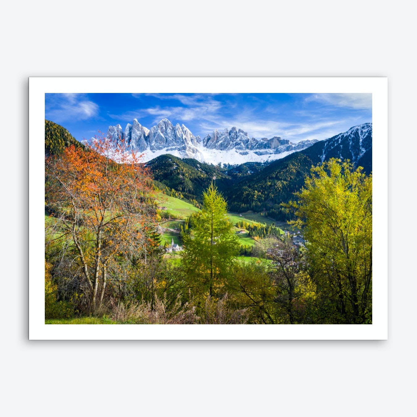 Alpine Dream Art Print