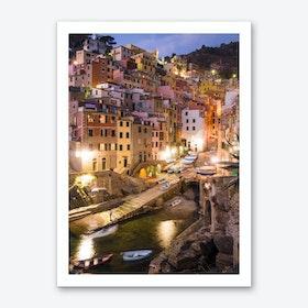 Riomaggiore Evening Art Print