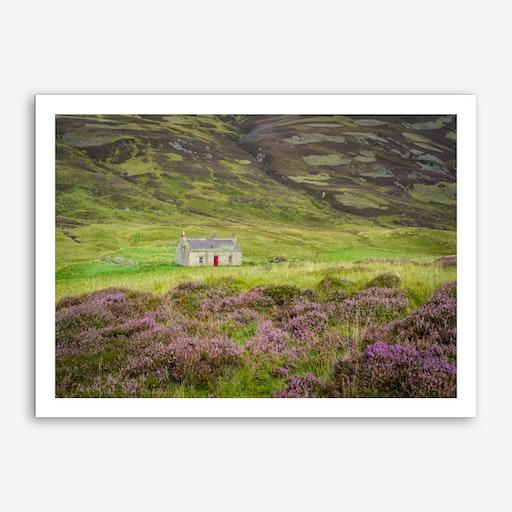 Cairngorms Cabin Art Print