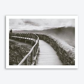 Curved Bridge Art Print