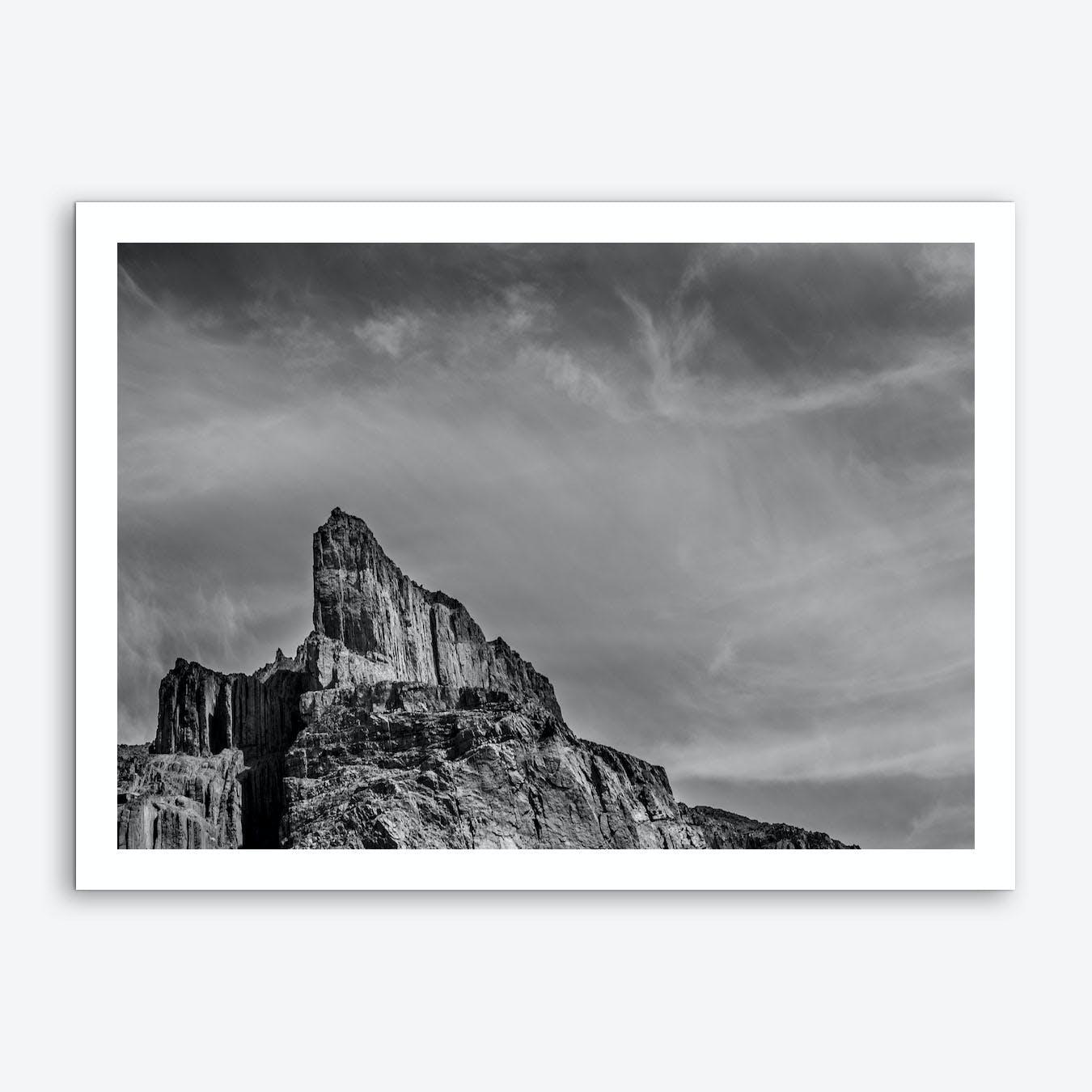 Pointed Mountain Art Print