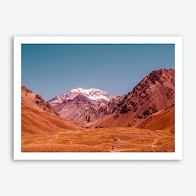 Rust Mountains Art Print