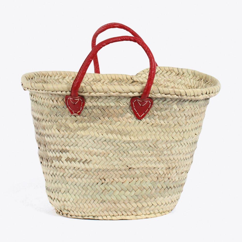 Souk Basket in Red
