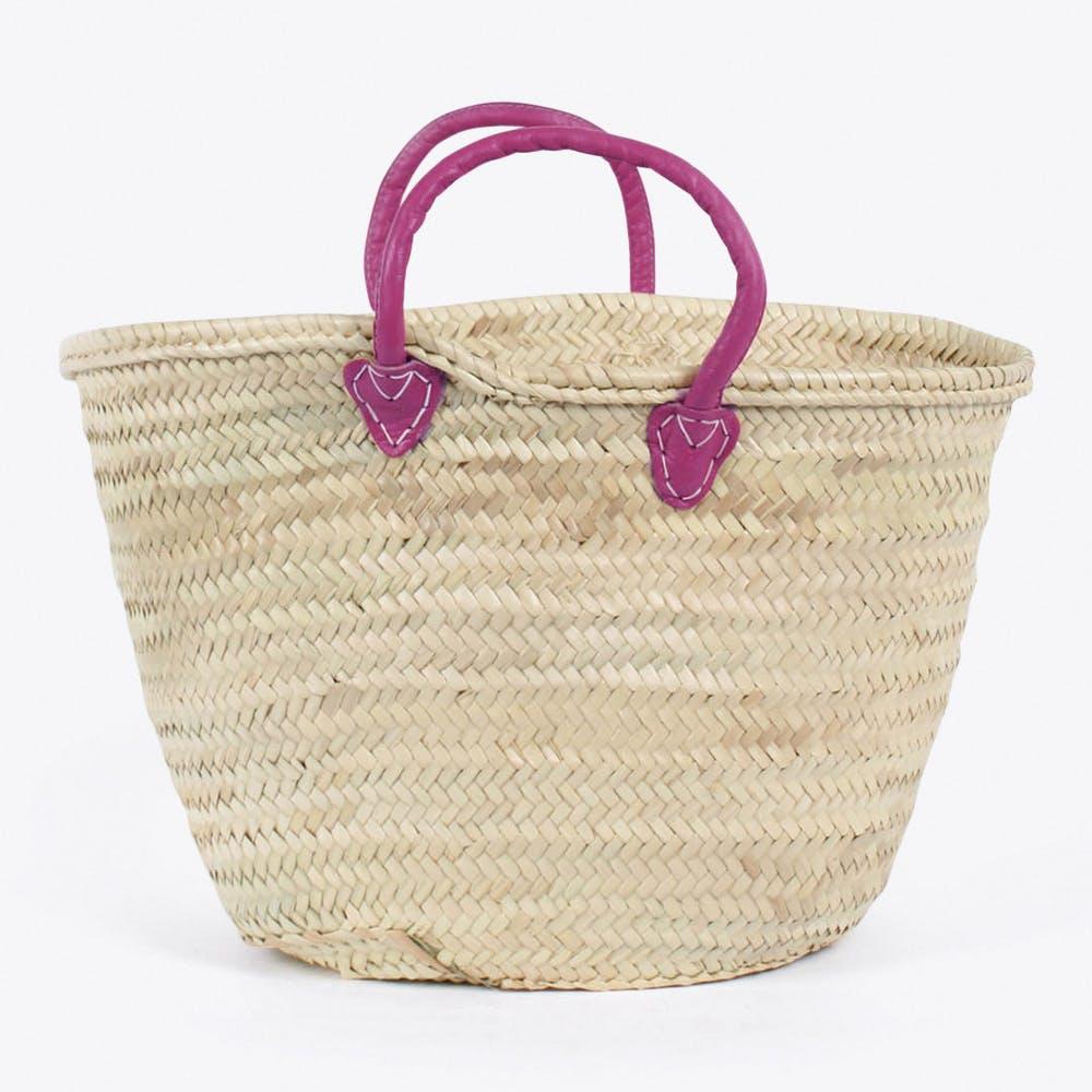 Souk Basket in Violet