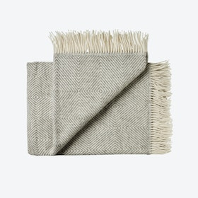 Fanø Wool Throw in Grey
