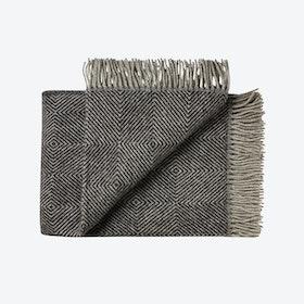 Fanø Wool Throw in Black