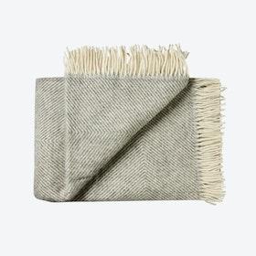Femø Wool Throw in Grey