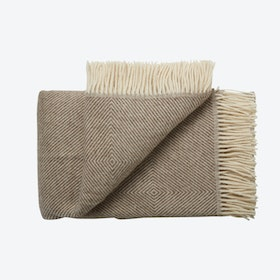 Femø Wool Throw in Brown