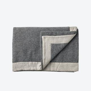 Gotland Wool Throw in Grey
