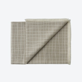 Juliaca Premium Baby Alpaca Throw in Grey