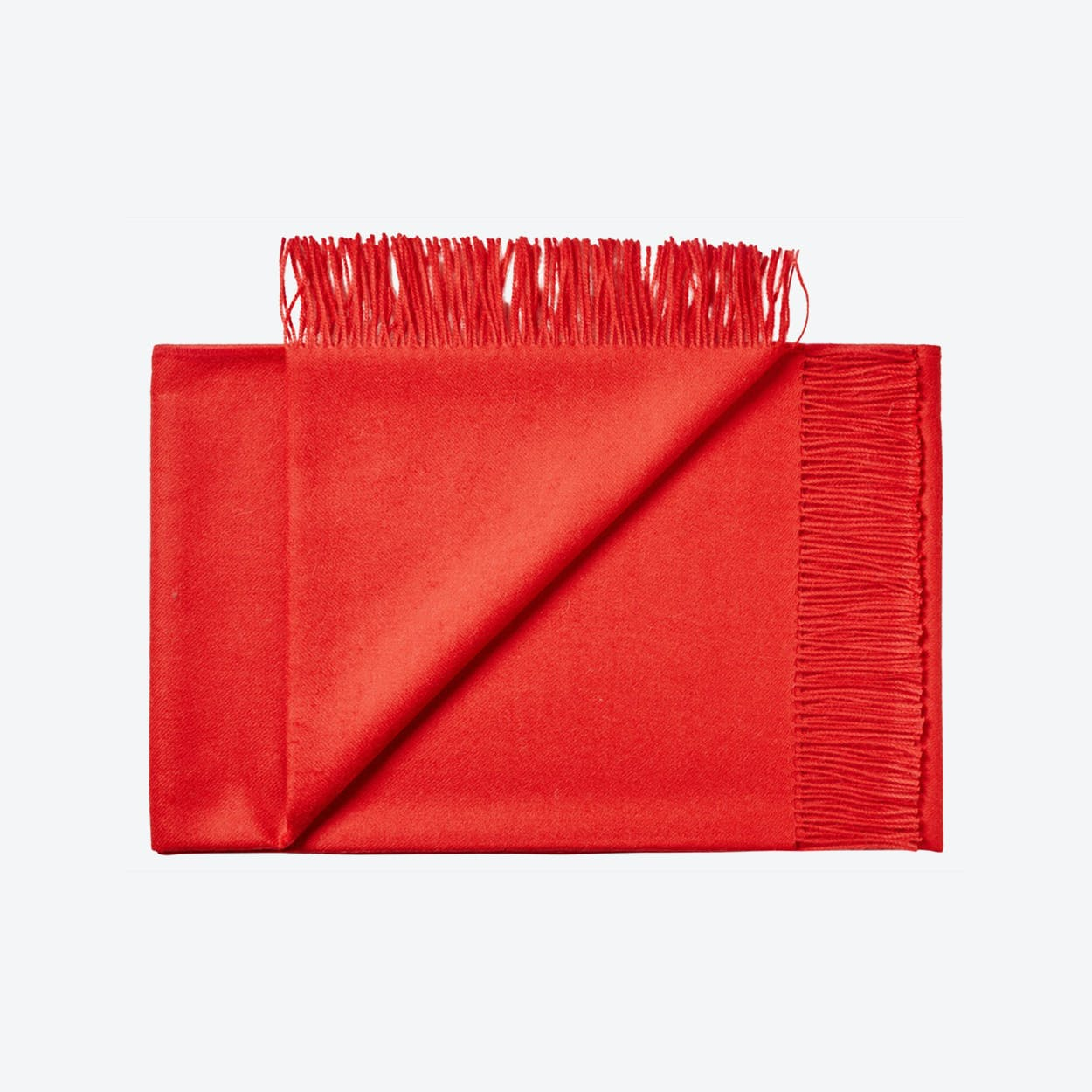 Lima Baby Alpaca Throw in Red
