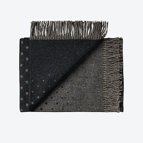 Madrid Alpaca/Wool Throw in Black