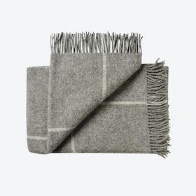 Mandø Wool Throw in Grey