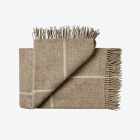 Mandø Wool Throw in Brown